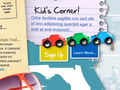 Florida Scenic Highways Website website website redesign unused concept