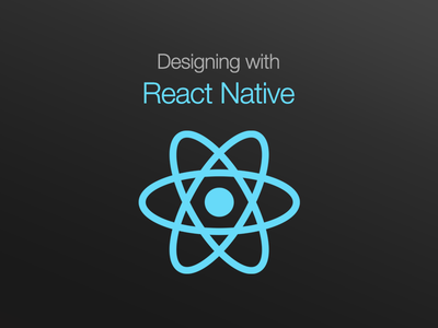 Poster for React Native Event native react