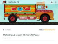 Mahindra AQ APP UI v2.0