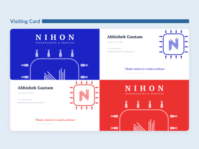 Nihon | Brand Identity | Visiting Card