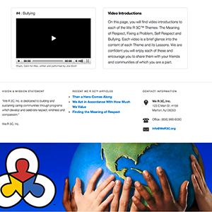 Wer3c site video page