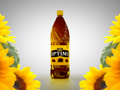 3D Bottle - Cooking Oil