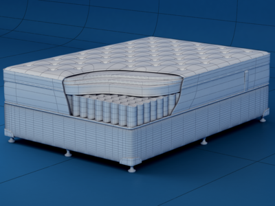 Ausbeds Mattress Wireframe
