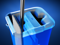 Autoclean Mop - 3D Renders