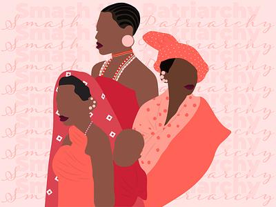 Womens Day '21 kenyan vector illustration design