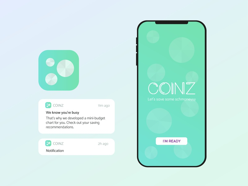 COINZ icon dailyui ui design logo ui design