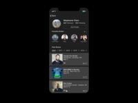 Daily UI 006 - Profile Page