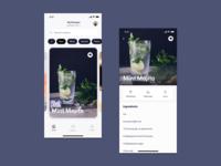 Cocktails Concept App