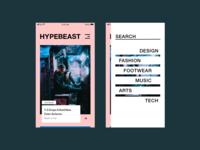 Hypebeast Redesign
