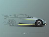 Aston Martin Vector Illustration