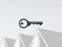 Real Estate Key Logo
