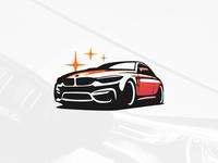BMW M4 Illustration
