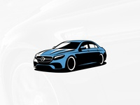 Mercedes-Benz E63 Illustration
