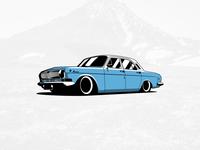 Volga Gaz-24 Illustrated