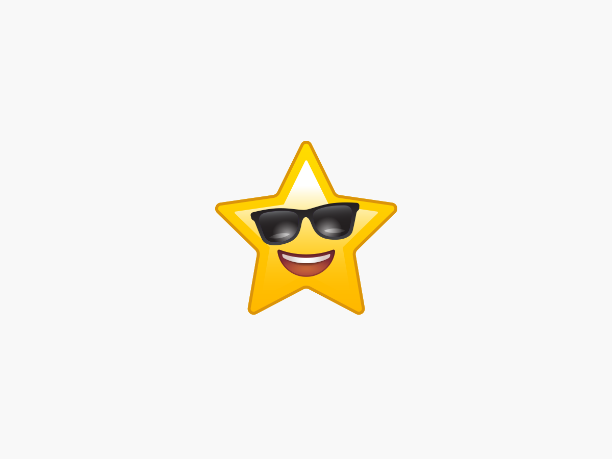 Gold star favicon icon graphic  design illustrator sticker emoji illustration vector