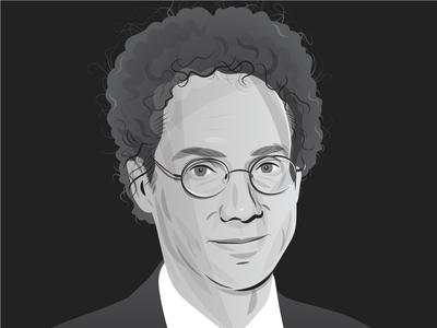 Malcolm Gladwell portrait