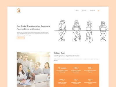 Landing Page user experience design homepage design interaction design ux ui