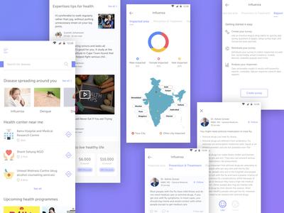 Health app ui ux interaction design design health app fitness app fit app healthy food app health app design