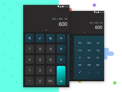Calculator UI Design ui android calculator interaction design calculator ui calculator ui design ui design