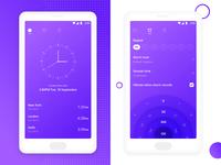 Redesign OnePlus alarm app