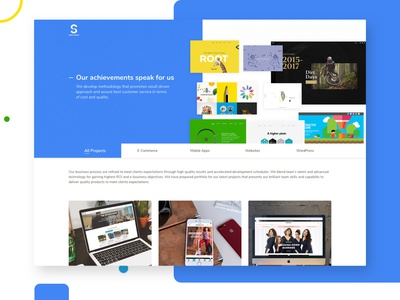 Saffrontech Portfolio Page portfolio page web page website mywork portfolio website design landing page design ux ui
