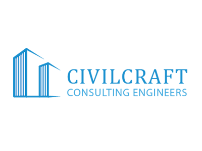 CivilCraft Logo engineering civilcraft logo design construction
