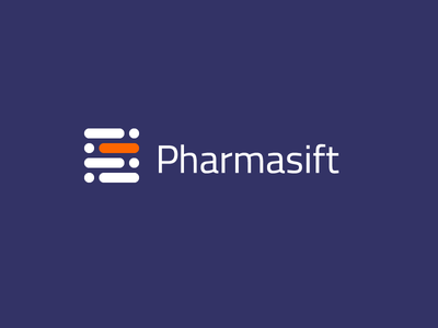 Pharmasift Logo keyword highlight search pharmacy logo