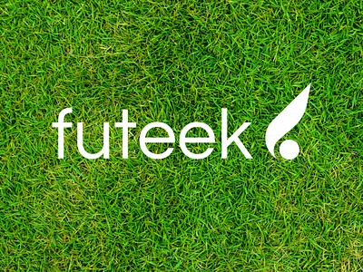 Futeek Logo design tshirt shop identity brand logo sport soccer futbol football futeek