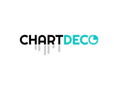 Chart Deco art dehahs infographic deco chart logo