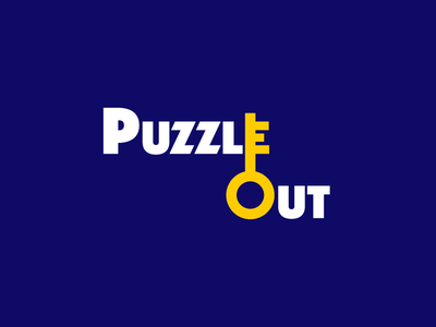 Puzzle Out Logo blessup success khaled dj key major type logo room escape out puzzle