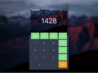 Day 04 — Calculator calculator sketch free challenge ui daily