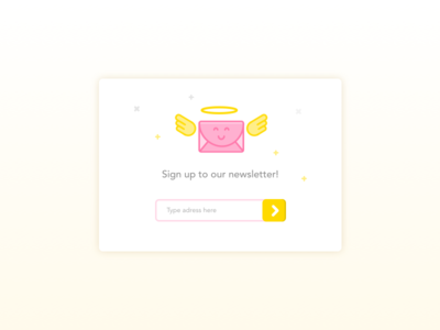 Day 26 — Subscribe letter subscribe daily ui challenge free sketch