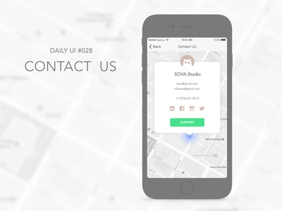 Contact Us contact owl icon free challenge daily ux ui sketch