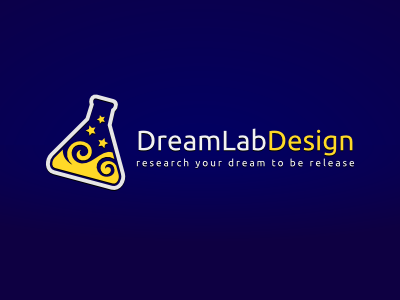 DreamLab Design Logo company logo contest lab