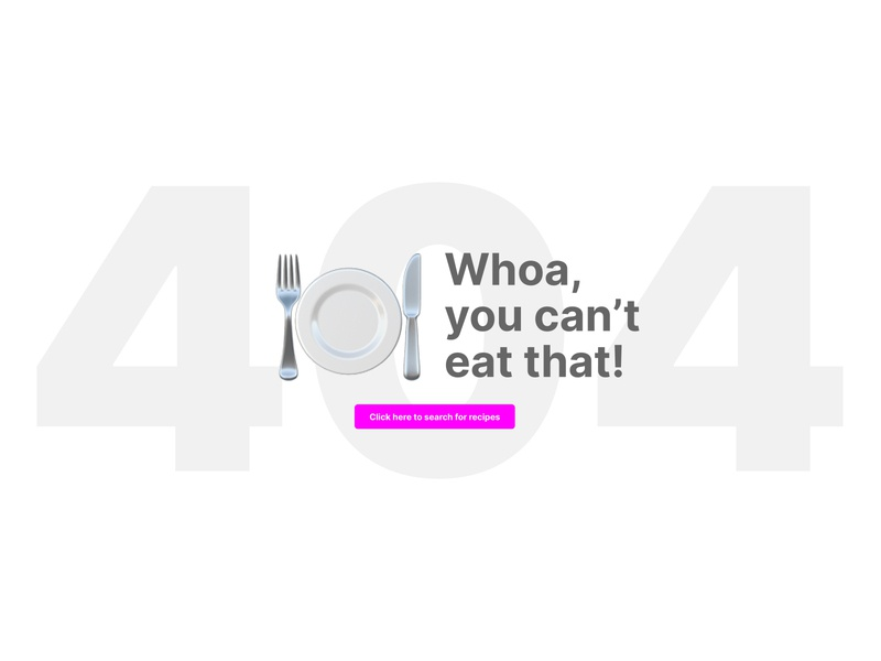 Recipe 404 recipes 404