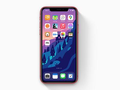 Primrose - Icon app design dailyui prm primrose icon app