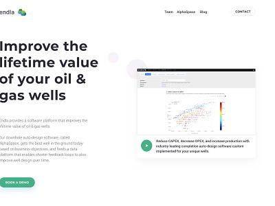 Endla Homepage Redesign startup website ycombinator landing page ui