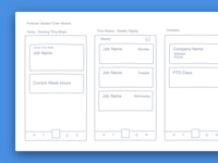 Thyme Mobile Wireframe
