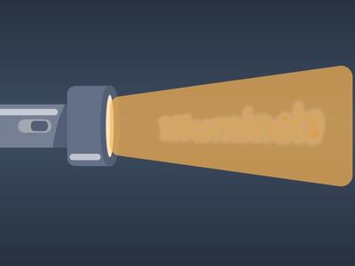 """Illuminate"" - process icon"
