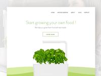 DailyUI #3 Landing Page