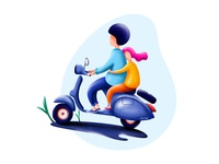 scooter rider 1