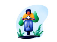 scooter rider 2