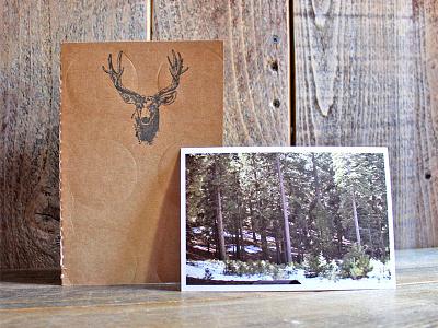 Zine - Wanderings - Twin Peaks book layout zine