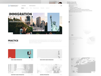 Law firm NYC website design