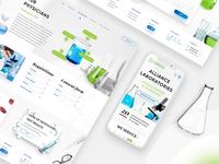 Alliance Labs website design