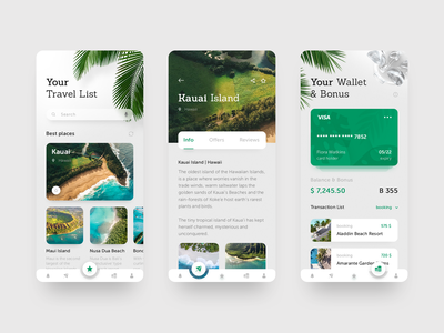 Travel guide | mobile app ios cards inspiration adobe adobe adobe planner trip tour mobile app travel ux ui design web