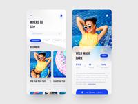 Mobile App Concept - Where to Go?