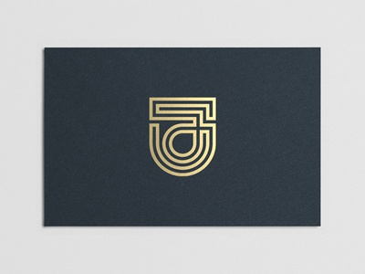 J business card business card jacob j monogram symbol logomark logo