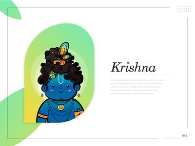 Krishna Character Deisgn