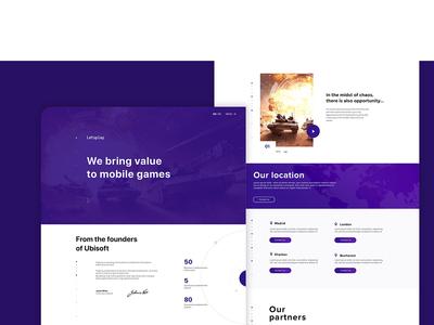 Letsplay ux ui branding design web
